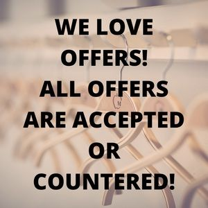 We Love Offers!